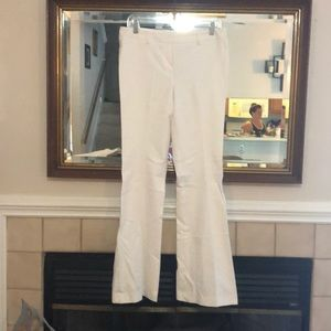 Tahari size 8 white dress pants